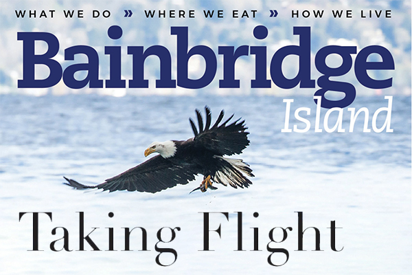Bainbridge Island Magazine - Local Media - American Eagle