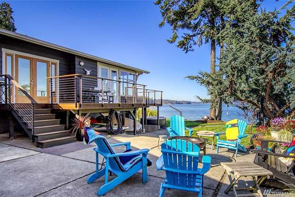 Bainbridge Island Real Estate Waterfront Home Listing