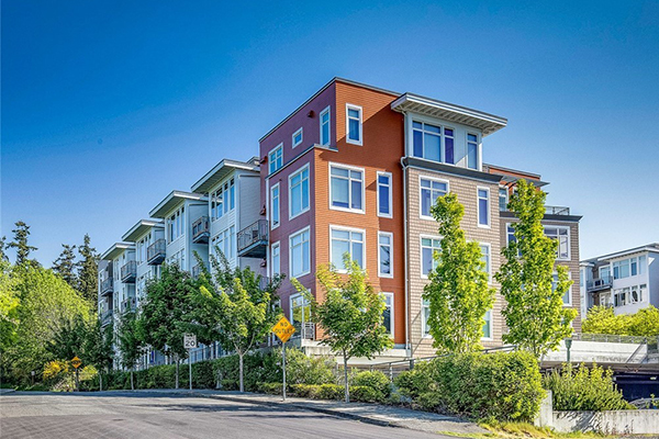 Bainbridge Island Rental Properties - Harbor Square Apartments