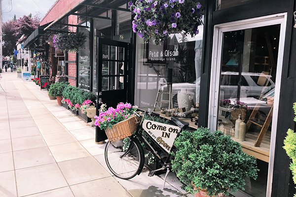 Bainbridge Island Shop - Petit and Olson Winslow Way