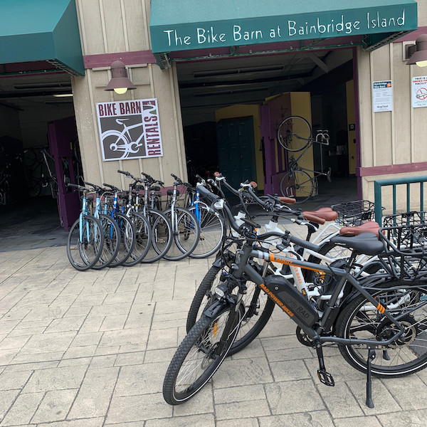 Bainbridge Island Bike Barn Transportation Get Around