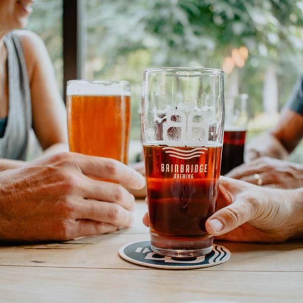 Bainbridge Brewing Beer Drink Bainbridge Island