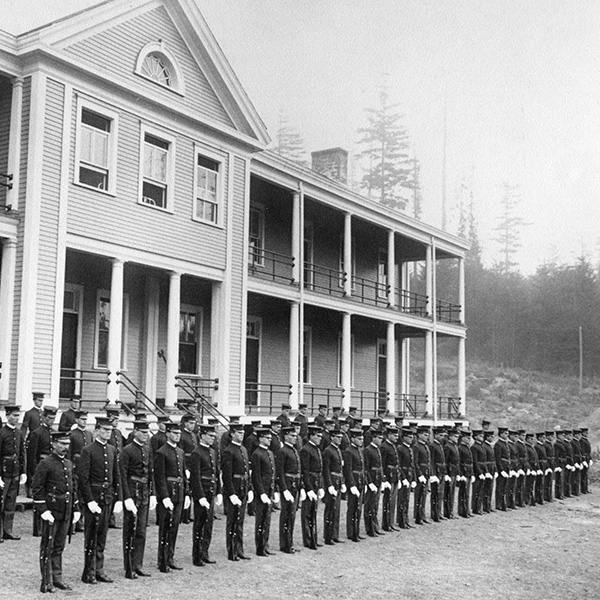 Fort Ward Bainbridge Island History 1910