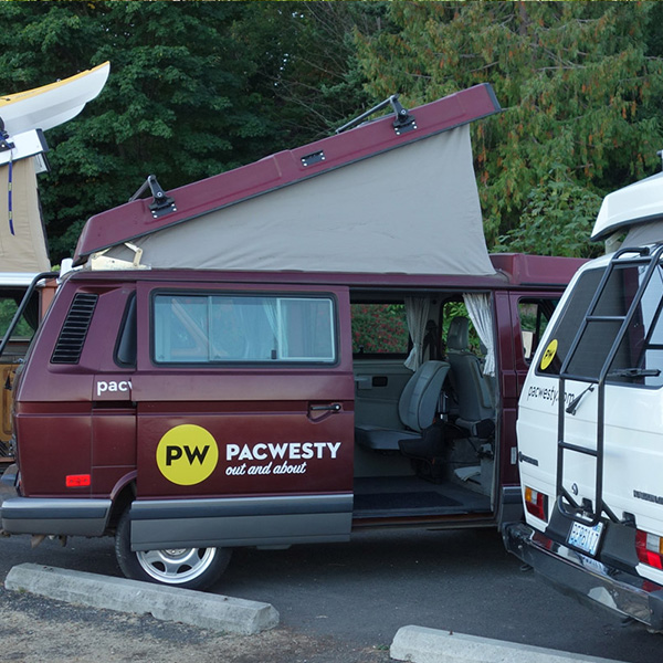 PacWesty VW Van Bainbridge Island Get Around Transportation