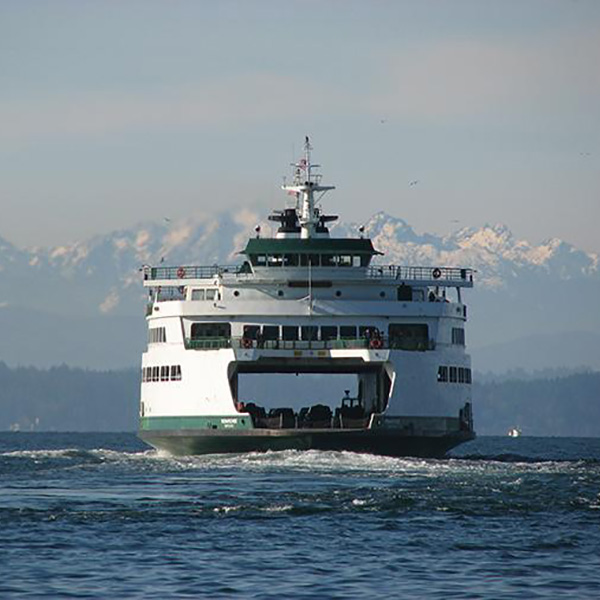 WSDOT Washington State Ferry Bainbridge Island Transportation