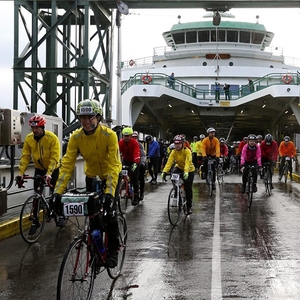 Chilly Hilly Bike Race Ferry Bainbridge Island Play