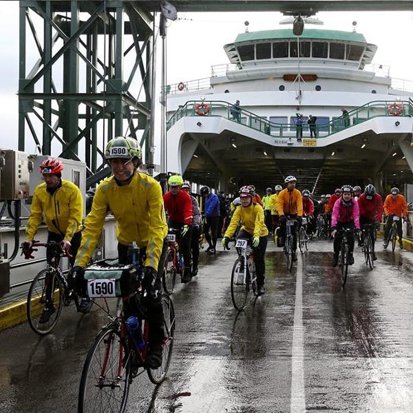 Chilly Hilly Bike Race Ferry Bainbridge Island Play