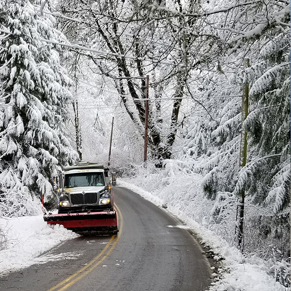 Snow Plough Bainbridge Island Daily News