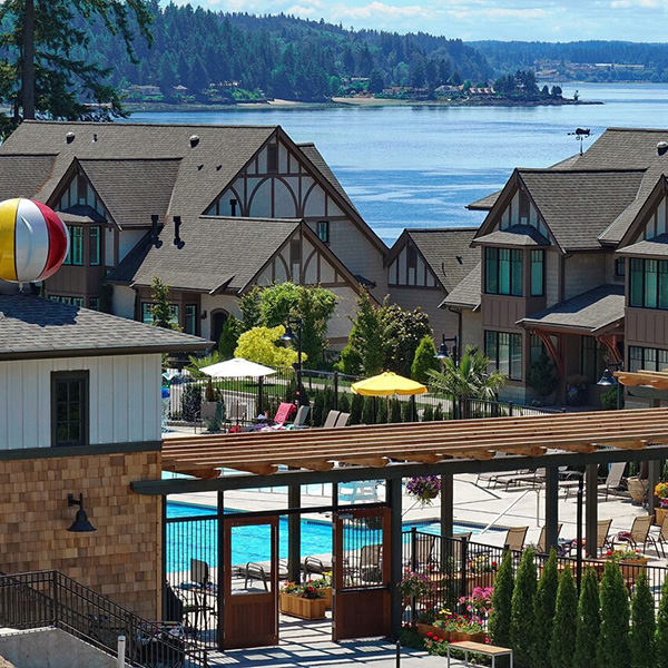 Inn Pleasant Beach Bainbridge Island Stay