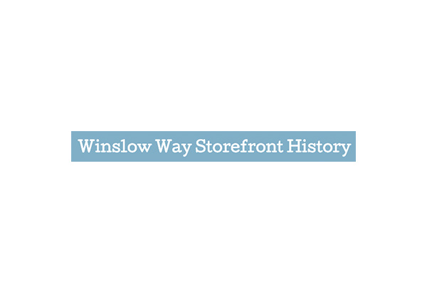 Winslow Way Storefront History Bainbridge